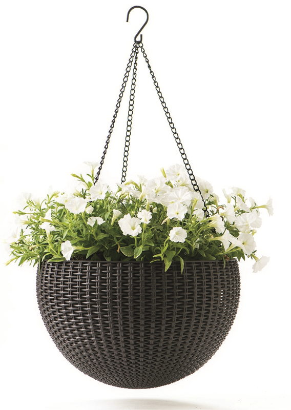 Кашпо Keter HANGING SPHERE PLANTER арт.17199246