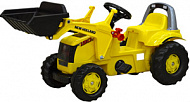 Педальный трактор Rolly Toys New Holland Construct 025053